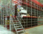 Мезонинные стеллажи (этажные стеллажи)
