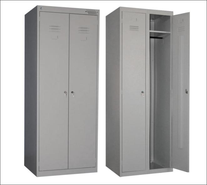 Шкаф металлический для одежды фото